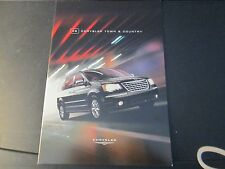 2009 CHRYSLER TOWN & COUNTRY SALES BROCHURE for FULL PRODUCT LINE-NEW