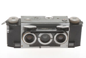 David-White-Stereo-Realist-35mm-camera-with-35-3-5-exc-sold-as-is