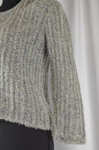taglia Pullover 8 donna donna Warm Zaharoff abbottonato Wool Boho Casual Pullover xxBp4a