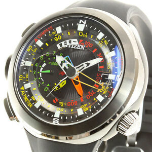 CITIZEN-PROMASTER-Eco-Drive-ALTICHRON-CIRRUS-BN4035-08E-Men-039-s-Watch-New-in-Box