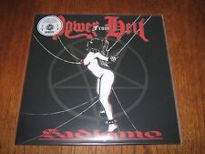"""POWER FROM HELL """"Sadismo"""" LP  midnight nunslaughter"""
