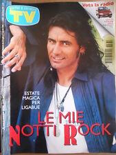 TV Sorrisi e Canzoni n°30 1996 Luciano Ligabue Copertina Patrizia Rossetti [D45]