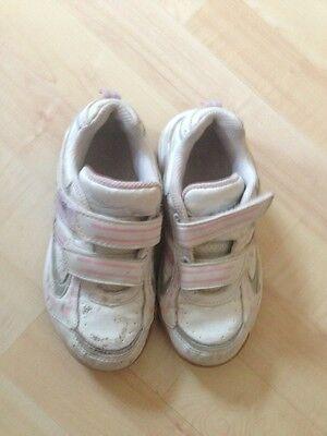 Weiß Sportschuhe Turnschuhe Mädchen 29 Rosa Schuhe Pink Sport
