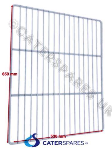 RACK FRIDGE FREEZER 530 X 650MM 2//1 PLASTIC COATED WIRE GRID SUPPORT SHELF