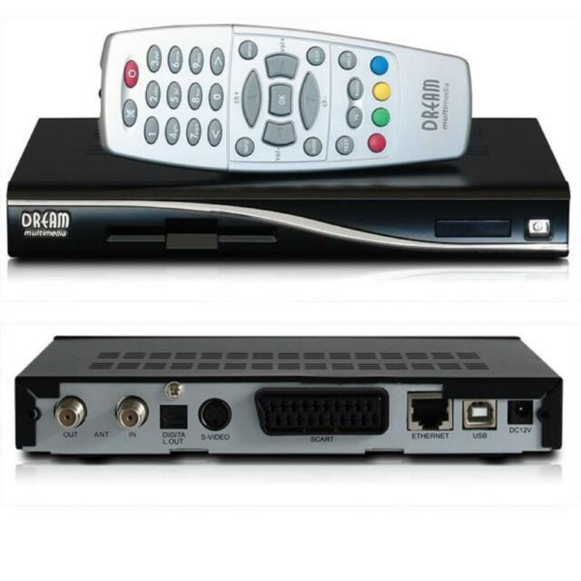 Original V2 Dreambox Dm-100 FTA to Air Satellite Receiver Dm100 500 Dm500