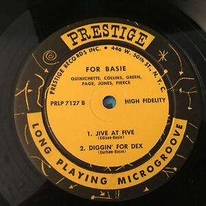 Paul-Quinichette-FOR-BASIE-1957-039-PRESTIGE-7127-RVG-Ear-Jazz-Vinyl-Disc-Lp-Record