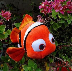 Nuevo-Finding-Nemo-suave-felpa-muneca-de-juguete-de-pescado-para-Disney-9-034-chicos-de-Regalo-Envio