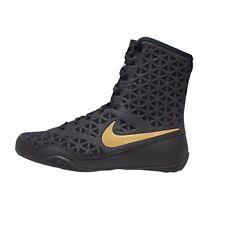Nike KO Boxing Boots Black/Gold Size 12 UK / 13 US Men's BNIB RRP £149