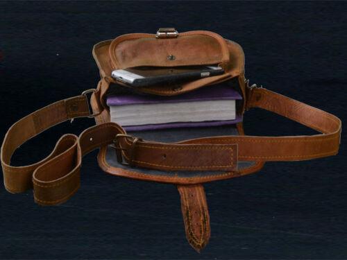 Details about  /Women Vintage Lookig  Leather Messenger Cross Body Bag Handmade purse satchel