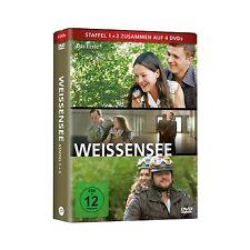 4 DVDs * WEISSENSEE BOX - STAFFEL 1+2 | Katrin Sass, Hannah Herzsprung # NEU OVP