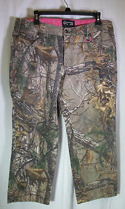 Women's Realtree Camo Pants Size 14 Jeans Hunting