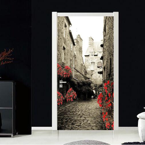 3D Straße 82 Tür Wandmalerei Wandaufkleber Aufkleber AJ WALLPAPER DE Kyra