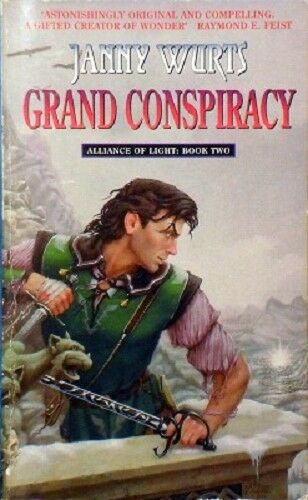 1 of 1 - Grand Conspiracy by Wurts Janny - Book - Paperback - Fantasy