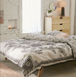 Urban Outfitters Valda Woodblock Medallion Duvet Cover Twin Xl New Ebay