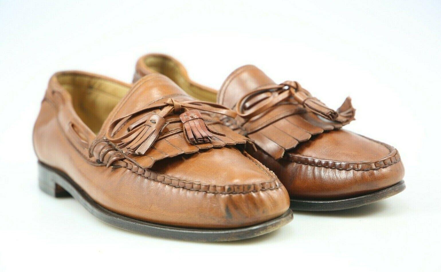 Allen Edmonds Woodstock Mokassin   Halbschuhe   Loafers Größe. 44