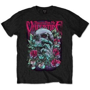 Bullet-For-My-Valentine-039-Skull-Red-Eyes-039-T-Shirt-NEW-amp-OFFICIAL