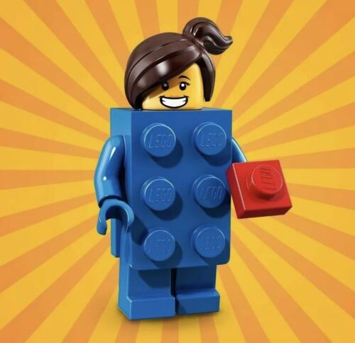 New /& Sealed! 71021 LEGO MINIFIGURES LEGO BRICK SUIT GIRL - Series 18