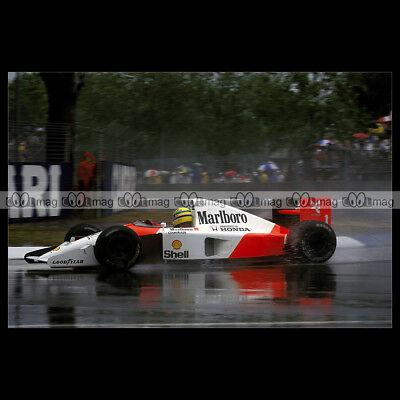 #pha.006016 Photo MCLAREN HONDA MP4-6 1991 AYRTON SENNA F1 GRAND PRIX Car Auto