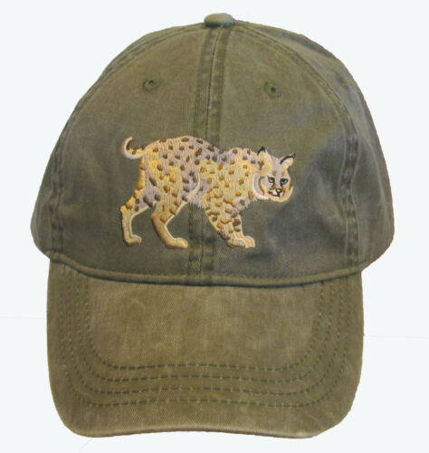 Bobcat Embroidered Cotton Cap NEW