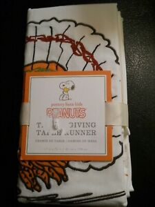 Pottery Barn Peanuts Woodstock Turkey Thanksgiving Table