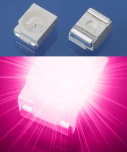 2 3528 LED ROSA 1210 S585-50 Pezzi SMD LED SOP