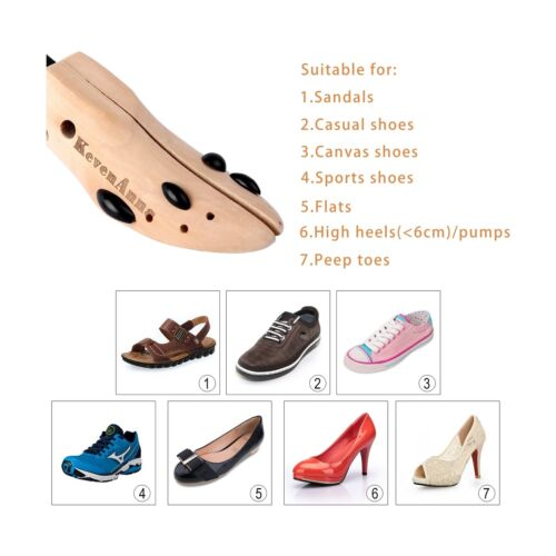 Wooden Shoe S... KevenAnna Pair of Premium Professional 2-way Wooden Shoe Trees