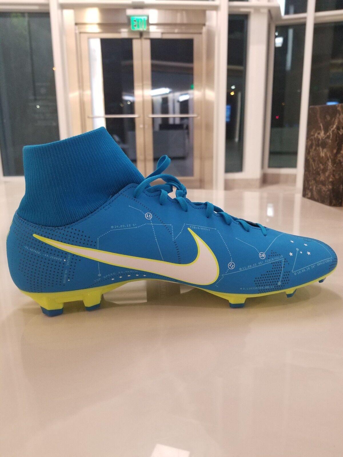 Nike Mercurial Victory VI VI Victory 6 DF NJR FG Neymar JR Soccer Cleats SZ 12 (921506-400) d909bc