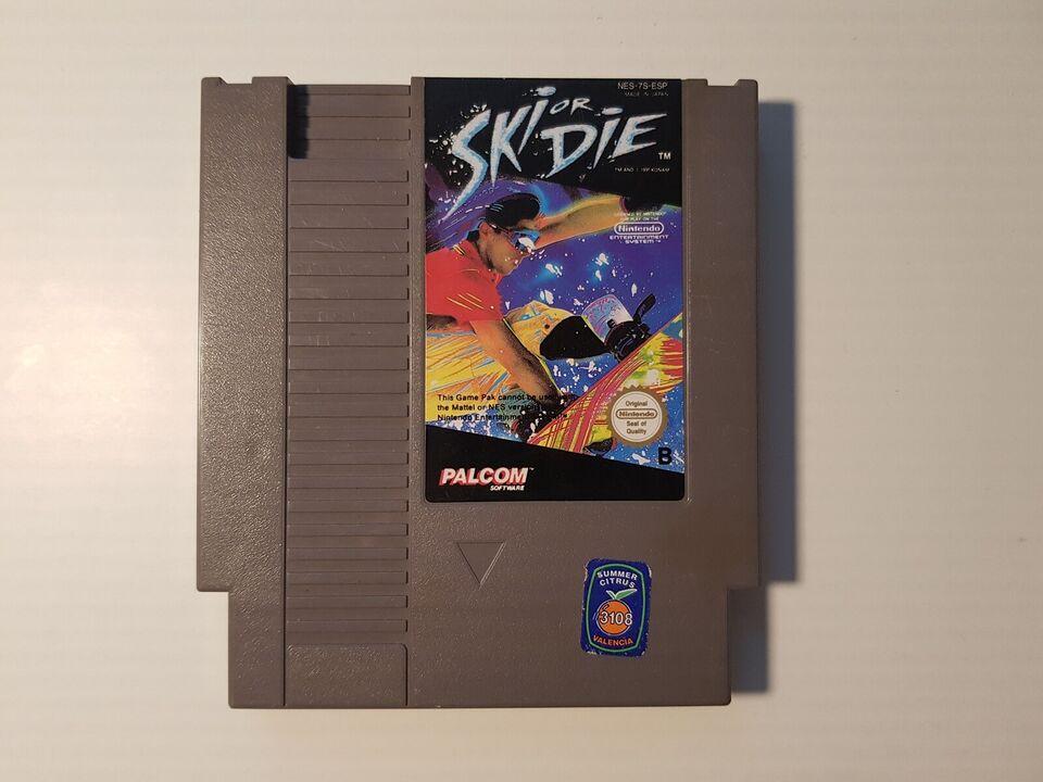 Ski or die, NES