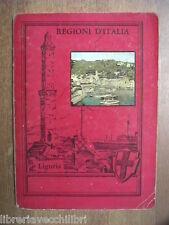 Vecchio quaderno scolastico usato di scuola Da collezione REGIO D ITALIA LIGURIA