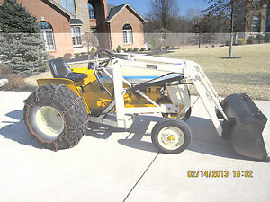 IH-Cub-Lo-Boy-154-JOHNSON-WORKHORSE-LOADER-Tractor-Not-Included-184-185