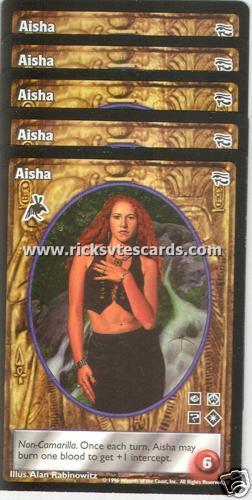 Aisha x5 Follower of Set AH VTES Jyhad