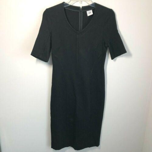 Cabi Size 2 Claire Dress Black Ponte Knit Short S… - image 1