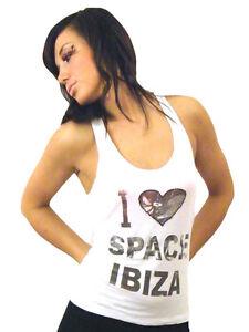 Religion-Clothing-Mujer-Camiseta-Top-Camiseta-T-Shirt-034-Espacio-IBIZA-034-NUEVO
