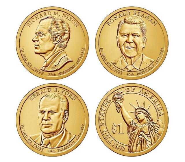 NIXON  PRESIDENTIAL DOLLAR COIN--Uncirculated 2016-D RICHARD M