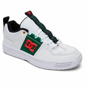 DC-SHOES-MEN-039-S-Lynx-OG-Skate-Sneaker-Basse-Sneaker-Scarpe-Bianco-Verde-Scarpe-skate