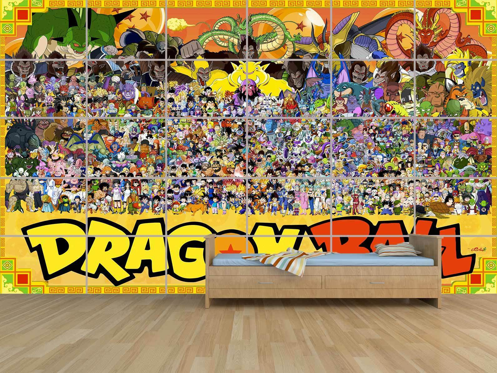 DRAGON BALL ALL CHARACTERS  XL  POSTER HUGE KIDS MASSIVE CHAMBRE ENFANTS