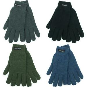 Gloves-Winter-Warm-Work-New-Blue-Black-Green-Grey-Army