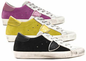 Sneakers-Philippe-Model-PARIS-L-DMIXAGE-scarpa-100-pelle-Made-in-Italy-donna-CLL