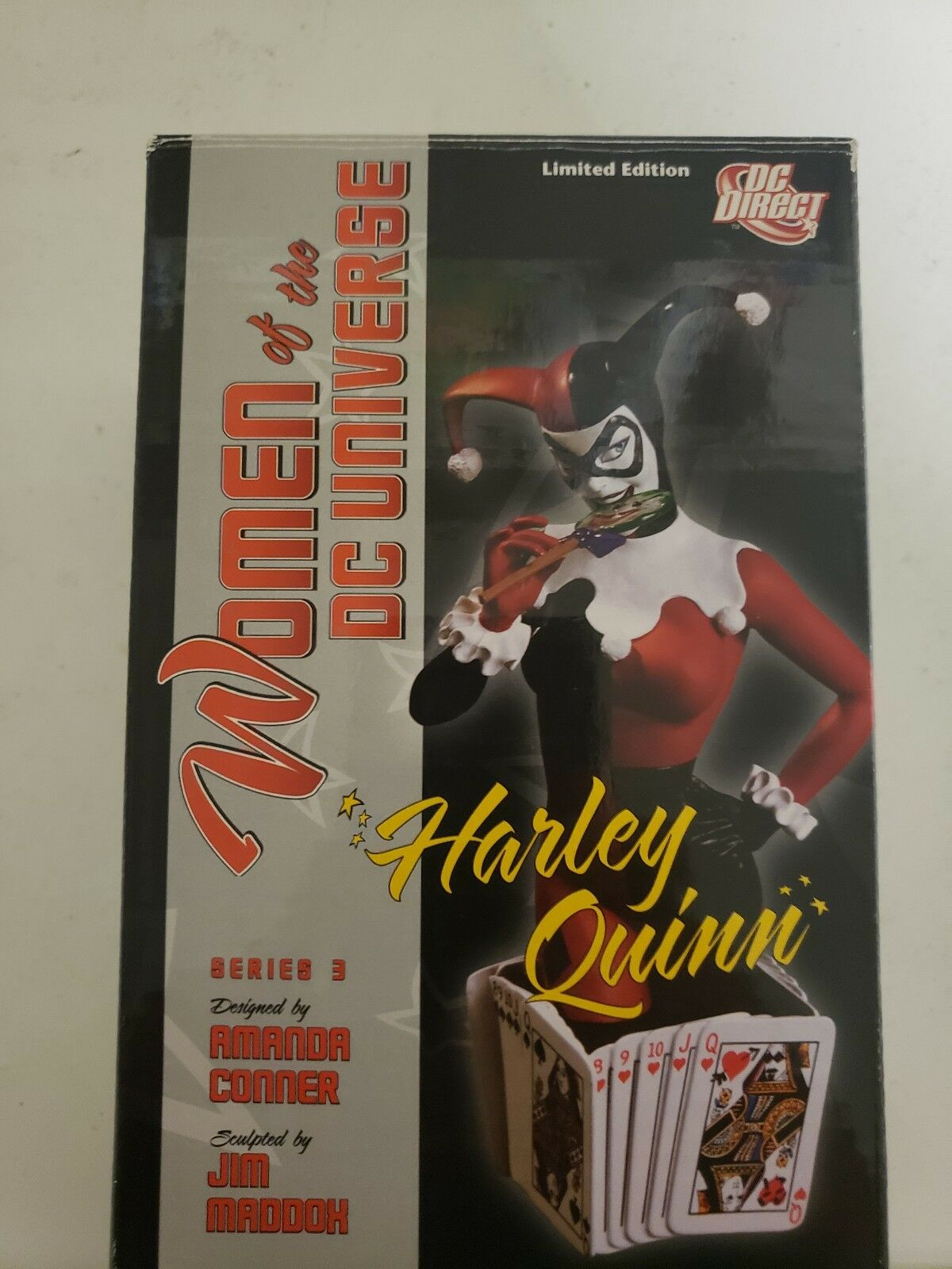 DC UNIVERSO SERIE 3 Harley Quinn autobusto DC Collectibles  15325000 Direct