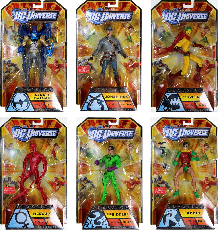 DC Universe Classics Series 16 ACTION FIGURE SET Unopened w BANE BAF  MATTEL