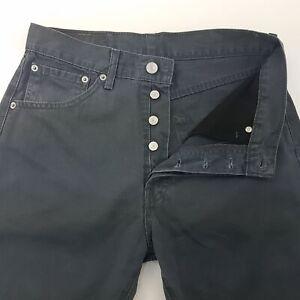 LEVI-039-S-551-vintage-pour-homme-Lumiere-d-039-ete-pantalon-Jean-W30-L31-Gris-Regular-Droit