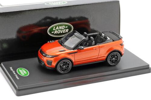 Land Rover Range Rover Evoque Convertible phoenix orange 1:43 TrueScale