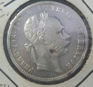 Austria-1880-Florin-Silver-XF-UNC-900
