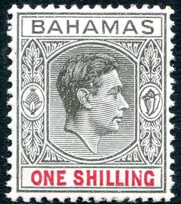 Orderly Bahamas-1942 1/ Black & Carmine Sg 155b Lightly Mounted Mint V28536 For Improving Blood Circulation British Colonies & Territories