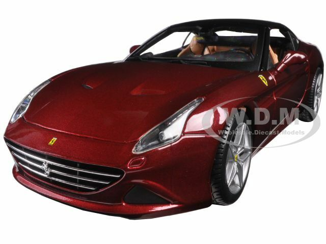 FERRARI CALIFORNIA T CLOSED TOP RED SIGNATURE SERIES SERIES SERIES 1 18 BY BBURAGO 16902 e85d00