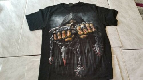 Spiral Direct **SALE** GAME OVER  T-SHIRT MEDIUM Gothic HEAVY METAL