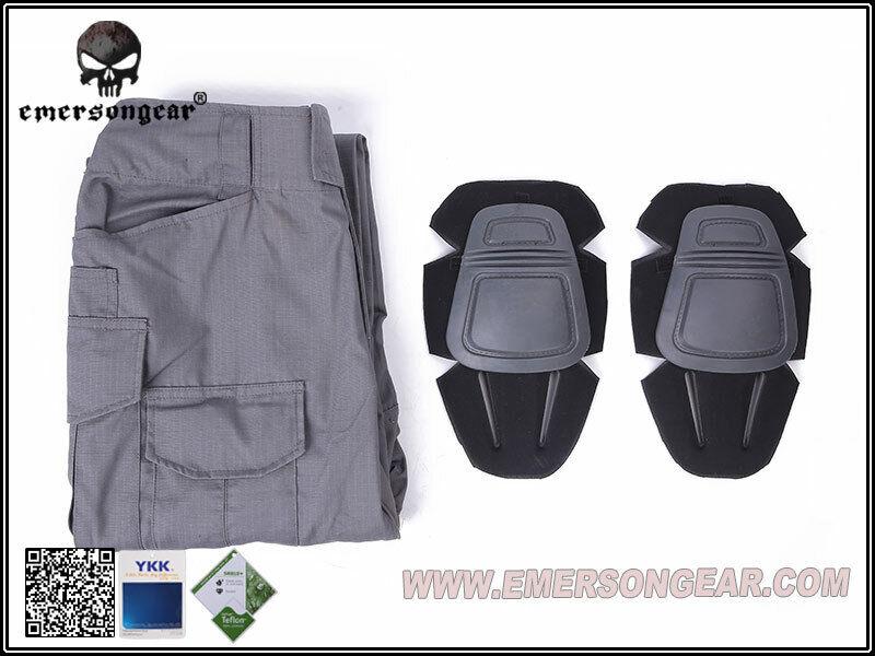 EMERSON GEAR G3 Combat Pantaloni Lupo Grigio 36W