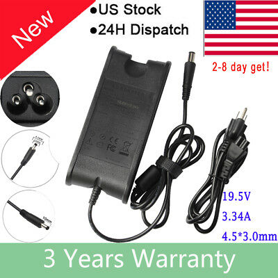 For DELL Inspiron 15 3000 3551 3552 P47F 19.5V 3.34A 65W AC Charger Adapter P20G