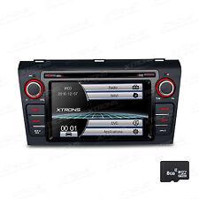 "7"" In Dash Car Radio DVD CD Player GPS Touch Screen BT Nav For Mazda 3 2004-2009"