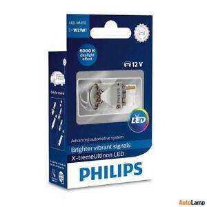 W21W-PHILIPS-X-tremeUltinon-T20-LED-Bombillas-de-senal-Blanco-6000K-12795X1